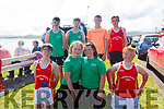 The U14 mixed brought in two winners in First Place at the Valentia Regatta on Sunday with Valentia & Cromane sharing first place, pictured here both crews front l-r; Kevin O'Connor, Lilly Morris, Molly McCarthy, Rian O'Shea, back l-r; Sean Garvey, Darragh Lynch, Fionán Healy & Ronan Dowd.  Portmagee finished 2nd with Callinafercy in 3rd place.