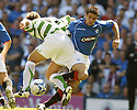 20/08/2005         Copyright Pic : James Stewart.File Name : jspa34 rangers v celtic.STILIAN PETROV AND NACHO NOVO CHALLENGE FOR THE BALL.Payments to :.James Stewart Photo Agency 19 Carronlea Drive, Falkirk. FK2 8DN      Vat Reg No. 607 6932 25.Office     : +44 (0)1324 570906     .Mobile   : +44 (0)7721 416997.Fax         : +44 (0)1324 570906.E-mail  :  jim@jspa.co.uk.If you require further information then contact Jim Stewart on any of the numbers above.........