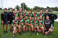 Manawatu women. 2018 Central Regional Sevens at Playford Park in Levin, New Zealand on Saturday, 1 December 2018. Photo: Dave Lintott / lintottphoto.co.nz