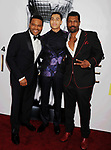 PASADENA, CA - FEBRUARY 11: (L-R) Actors Anthony Anderson, Marcus Scribner and Deon Cole arrive at the 48th NAACP Image Awards at Pasadena Civic Auditorium on February 11, 2017 in Pasadena, California.