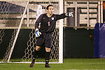 14 November 2008: Virginia's Michael Giallombardo. The University of Virginia defeated Wake Forest 3-2 in two overtimes at WakeMed Stadium at WakeMed Soccer Park in Cary, NC in a men's ACC tournament semifinal game.