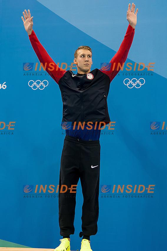 Kalisz Chase USA<br /> 400 Individual Medley men<br /> Rio de Janeiro 06-08-2016 XXXI Olympic Games <br /> Olympic Aquatics Stadium <br /> Swimming finals 06/08/2016<br /> Photo Giorgio Scala/Deepbluemedia/Insidefoto