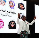 Memoji Karaoke with Andre De Shields at Reopening of Apple Fifth Ave  9/20/19