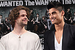 The Wanted, May 19, 2013 : Jay McGuiness, Siva Kaneswaran of The Wanted attend press conference on 19 May Tokyo Japan. (Photo by Mooto Naka/AFLO)