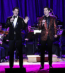 Will Nunziata and Anthony Nunziata attends the After Party Reception for The American Pops Orchestra '75 Years of Streisand'  at the George Washington University Lisner Auditorium on January 13, 2017 in New York City.