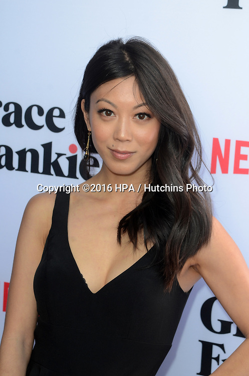 LOS ANGELES - MAY 1:  Brittany Ishibashi at the Grace & Frankie Season 2 Premiere Screening at the Harmony Gold on May 1, 2016 in Los Angeles, CA