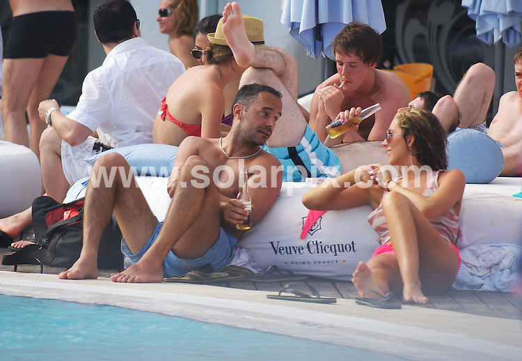 **ALL ROUND EXCLUSIVE PICTURES FROM SOLARPIX.COM**.**WORLDWIDE SYNDICATION RIGHTS**.Pics show Michael Greco trying to chat girls up while partying at The Ocean Club in Marbella this weekend. The ex Eastenders actor tried and failed with several young ladies before eventually giving up and going back to his hotel..This pic:    Michael Greco.JOB REF:      11352    JGS        DATE:   29.05.10.**MUST CREDIT SOLARPIX.COM OR DOUBLE FEE WILL BE CHARGED**.**MUST AGREE FEE BEFORE ONLINE USAGE**.**CALL US ON: +34 952 811 768 or LOW RATE FROM UK 0844 617 7637**