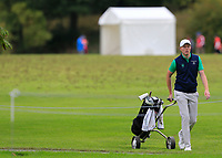 Robin Dawson (Ireland) during final day of the World Amateur Team Championships 2018, Carton House, Kildare, Ireland. 08/09/2018.<br /> Picture Fran Caffrey / Golffile.ie<br /> <br /> All photo usage must carry mandatory copyright credit (© Golffile | Fran Caffrey)