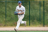 23 May 2009: Matthieu Brelle Andrade of Senart is seen on defense during the 2009 Challenge de France, a tournament with the best French baseball teams - all eight elite league clubs - to determine a spot in the European Cup next year, at Montpellier, France. Savigny wins 4-1 over Senart.