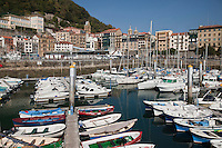 Europe/Espagne/Guipuscoa/Pays Basque/Saint-Sébastien: Le Port de pêche