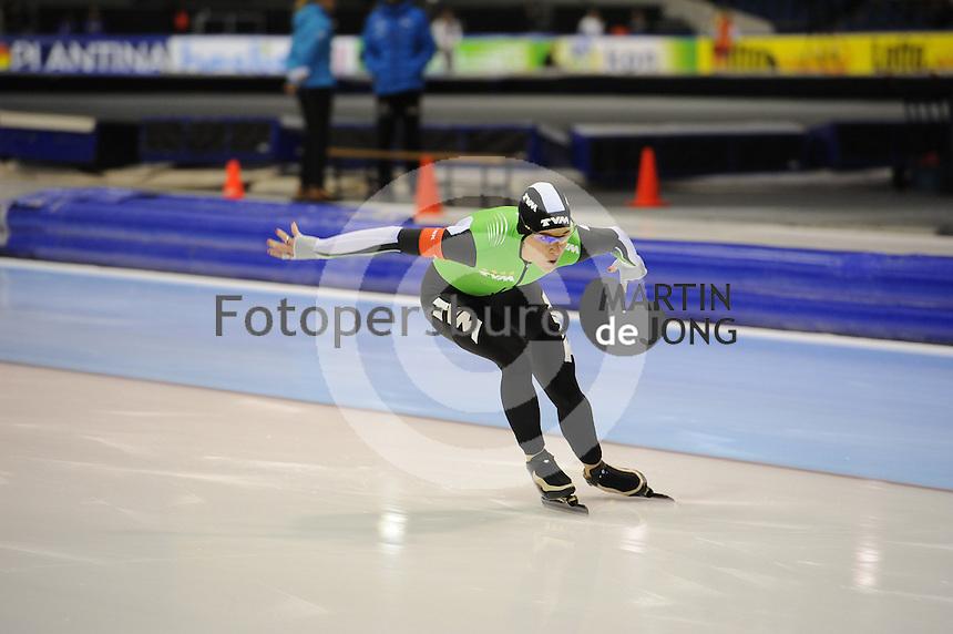 SCHAATSEN: HEERENVEEN: 26-12-2013, IJsstadion Thialf, KNSB Kwalificatie Toernooi (KKT), 1000m, Ireen Wüst, ©foto Martin de Jong