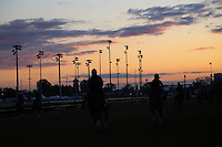 May 1, 2014: Scenes from the backside at Down at the Downs at Churchill Downs in Louisville, KY. Zoe Metz/ESW/CSM
