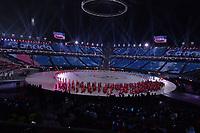OLYMPIC GAMES: PYEONGCHANG: 09-02-2018, PyeongChang Olympic Stadium, Olympic Games, Opening Ceremony, Team Canada, ©photo Martin de Jong