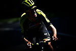 Jack Bauer (NZL) Mitchelton-Scott during Stage 6 of the 2018 Tour de France running 181km from Brest to Mur-de-Bretagne Guerledan, France. 12th July 2018. <br /> Picture: ASO/Alex Broadway | Cyclefile<br /> All photos usage must carry mandatory copyright credit (© Cyclefile | ASO/Alex Broadway)