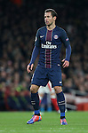 PSG's Gregorz Krychowiak in action during the Champions League group A match at the Emirates Stadium, London. Picture date November 23rd, 2016 Pic David Klein/Sportimage