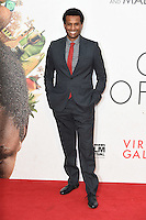 "Tendo Nagena<br /> at the London Film Festival 2016 premiere of ""Queen of Katwe"" at the Odeon Leicester Square, London.<br /> <br /> <br /> ©Ash Knotek  D3168  09/10/2016"