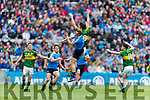 David Moran Kerry in action against Brian Fenton Dublin at the National League Final in Croke Park on Sunday.