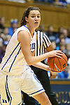 23 November 2012: Duke's Haley Peters. The Duke University Blue Devils played the Valparaiso University Crusaders at Cameron Indoor Stadium in Durham, North Carolina in an NCAA Division I Women's Basketball game. Duke won the game 90-45.