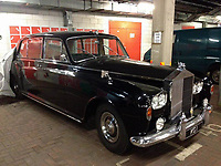 COPY BY TOM BEDFORD<br /> Pictured: The black Rolls Royce which has been kept in a Cardiff Council lock up since 2002<br /> Re: A hard-up council has kept a £200,000 Rolls-Royce locked up in a garage for the last 16 years at the taxpayers' expense.<br /> The black Roller is taken out once a year for its MOT before being returned to an underground car park.<br /> But Cardiff Council refuses to sell the 1963 Rolls-Royce Phantom saying it's part of the city's heritage.<br /> The luxury limo, with the registration number KG1, drove the Queen and Princess Diana on visits to the Welsh capital.<br /> But it hasn't been used since 2002 and clocks up just six miles a year having its MOT test. <br /> A Facebook group called Cardiff's Rolls-Royce KG1 is campaigning for the car to become a museum piece.