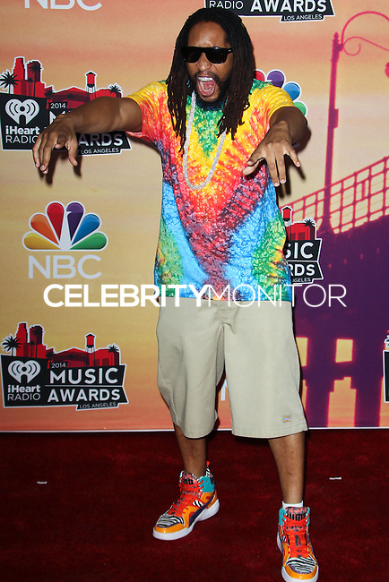 LOS ANGELES, CA, USA - MAY 01: Lil Jon, Jonathan Smith in the press room at the iHeartRadio Music Awards 2014 held at The Shrine Auditorium on May 1, 2014 in Los Angeles, California, United States. (Photo by Celebrity Monitor)
