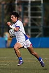 Minseong Chae of Korea runs in a try during the Asia Rugby U20 Sevens 2017 at King's Park Sports Ground on August 4, 2017 in Hong Kong, China. Photo by Yu Chun Christopher Wong / Power Sport Images