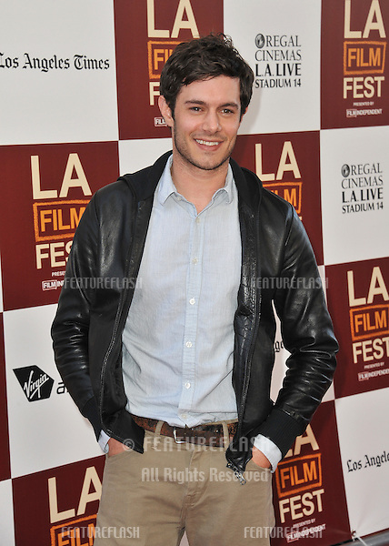 "Adam Brody at the world premiere of his movie ""Seeking a Friend for the End of the World"" at Regal Cinemas LA Live..June 19, 2012  Los Angeles, CA.Picture: Paul Smith / Featureflash"