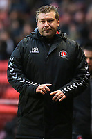 Charlton Athletic Manager, Karl Robinson during Charlton Athletic vs Oxford United, Sky Bet EFL League 1 Football at The Valley on 3rd February 2018