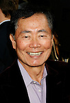 "HOLLYWOOD, CA. - April 30: George Takei arrives at the Los Angeles premiere of ""Star Trek"" at the Grauman's Chinese Theater on April 30, 2009 in Hollywood, California."