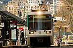 MAX Lightrail at the Convention Center, Portland, Oregon