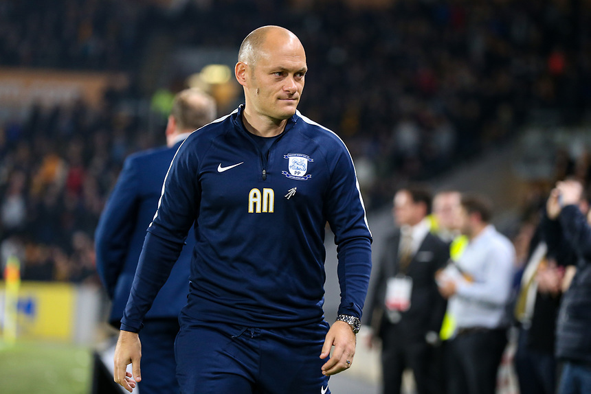 Preston North End's Alex Neil<br /> <br /> Photographer Andrew Kearns/CameraSport<br /> <br /> The EFL Sky Bet Championship - Hull City v Preston North End - Tuesday 26th September 2017 - KC Stadium - Hull<br /> <br /> World Copyright &copy; 2017 CameraSport. All rights reserved. 43 Linden Ave. Countesthorpe. Leicester. England. LE8 5PG - Tel: +44 (0) 116 277 4147 - admin@camerasport.com - www.camerasport.com