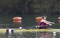 Caversham. Berkshire. UK<br /> Louise HART,<br /> 2016 GBRowing U23 Trials at the GBRowing Training base near Reading, Berkshire.<br /> <br /> Monday  11/04/2016 <br /> <br /> [Mandatory Credit; Peter SPURRIER/Intersport-images]