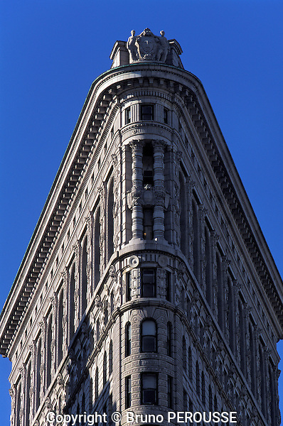 Amérique, Etats Unis, état de New York, New York, Manhattan, immeuble Flatiron//América, United States, New York state, New York city, Manhattan, Flatiron Building