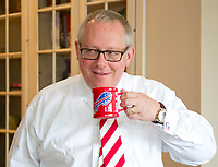 Michael R. Caputo, a Republican political strategist and media consultant, enjoys a cup of coffee as he prepares for his testimony before the United States House Permanent Select Committee on Intelligence as part of their investigation into Russian interference in the 2016 US presidential election, at the home of a long-time friend in McLean, Virginia on Friday, July 14, 2017.<br /> Credit: Ron Sachs / CNP /MediaPunch