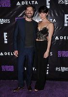 20 May 2016 - Hollywood, California - Mark Duplass, Katie Aselton. Arrivals for the P.S. ARTS Presents: The pARTy! held at Neuehouse. Photo Credit: Birdie Thompson/AdMedia
