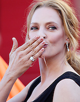 "Uma Thurman attends "" The Immigrant "" Premiere during the 66th Cannes Film Festival - Cannes"