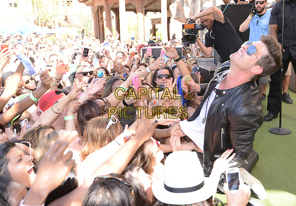 LAS VEGAS, NV - April 12: Robin Thicke launches Rehab 11th Season at the Hard Rock Hotel &amp; Casino on April 12, 2014 in Las Vegas, Nevada. <br /> CAP/MPI/RTNKAB<br /> &copy;RTNKAB/MPI/Capital Pictures