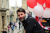 Lincoln City manager Danny Cowley during the open Top Bus Parade through Lincoln<br /> <br /> Photographer Chris Vaughan/CameraSport<br /> <br /> The EFL Sky Bet League Two - Lincoln City - Champions Parade - Sunday 5th May 2019 - Lincoln<br /> <br /> World Copyright © 2019 CameraSport. All rights reserved. 43 Linden Ave. Countesthorpe. Leicester. England. LE8 5PG - Tel: +44 (0) 116 277 4147 - admin@camerasport.com - www.camerasport.com