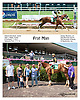Frat Man winning at Delaware Park racetrack on 7/7/14