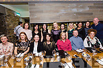 Scoil Eoin - Parents Association christmas party at No.4 the Square on Saturday Pictured l-r Maria Hayes, Caitriona Py Collins, Moira O Connor, Orla Higgins, Kate Guerin, Emmet Kennelly, Carol Mallen Back l-r Edel Lenihan, Nanlia Mucha, Markatta, Elma Mulroney,  Comia Kennelly,Tina Stack, Leila Leahy, Janet Lucus and Lawrence Cotter