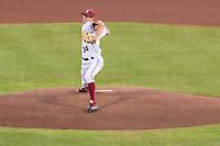STANFORD, CA - March 18, 2016: The Stanford Cardinal baseball team vs the Kansas Jayhawks at  Klein Field at Sunken Diamond Stadium in Stanford, California. Final score, Stanford 2, Kansas 0.