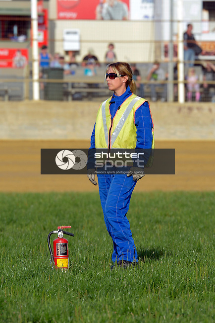 Tasman Thunder v Greymouth Grizzlies, Tahuna Beach Holiday Park Speedway, 26th January 2013, Nelson, New Zealand<br /> Photo: Barry Whitnall/shuttersport.co.nz