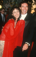 Antonio Banderas, wife Ana Leza, 1994, Photo By Michael Ferguson/PHOTOlink