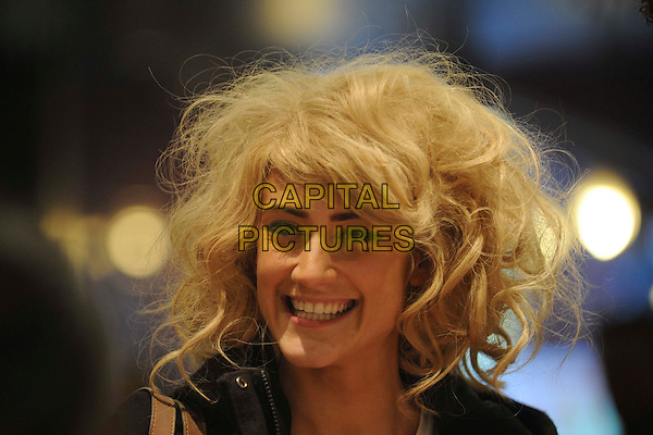 KATIE WAISSEL.X Factor's Katie Waissel seen shopping with a friend in Covent Garden, London, England, UK, November 10th 2010..portrait headshot messy hair smiling .CAP/IA.©Ian Allis/Capital Pictures.