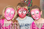 Having their faces painted by Tony Moore at the Caili?n A?lainn  festival in Lixnaw on Sunday were Tylor Flannery, Allanagh O'Sullivan, Mason and Megan Cleary..