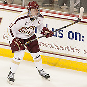 Pat Mullane (BC - 11) - The Boston College Eagles defeated the visiting University of Massachusetts Lowell River Hawks 6-3 on Sunday, October 28, 2012, at Kelley Rink in Conte Forum in Chestnut Hill, Massachusetts.