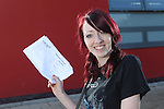A Level Results 2012.Danielle Simmonds.Cross Keys College.16.08.12.©Steve Pope