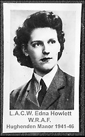 BNPS.co.uk (01202 558833)<br /> Pic: NationalTrust/BNPS<br /> <br /> Top Secret  - Edna Howlett during the war.<br /> <br /> Secret rooms at a stately home where brilliant map-makers played a pivotal role in helping Britain to win the war have been opened to the public for the first time.<br /> <br /> Hughenden Manor, in Bucks, once home to the Victorian prime minster Benjamin Disraeli, was requisitioned by the Air Ministry in 1941 and given the codename 'Hillside'.<br /> <br /> In its confines, more than 3,500 hand drawn maps were produced for the RAF bombing campaigns, including the legendary Dambusters Raid and a raid on the Berchtesgaden, Hitler's famous mountain retreat.<br /> <br /> Previously hidden away under lock and key, these rooms have been opened for the first time for a permanent display featuring photographs, records and testimonies from some of the 100 men and women who were based there in World War Two.<br /> <br /> Since they were sworn to silence under the Official Secrets Act, Hillside's crucial wartime role in fact remained unknown until 2004, when a volunteer room guide overheard Victor Gregory, a visitor to the National Trust property, tell his grandson that he was stationed there during the war.