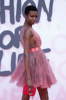model at the 2018 Fashion For Relief gala during the 71st Cannes Film Festival, held at Aeroport Cannes Mandelieu in Cannes, France.<br /> CAP/NW<br /> &copy;Nick Watts/Capital Pictures