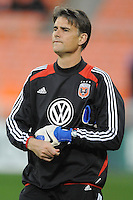 D.C. United Assistant Coach Pat Onstad. D.C. United tied The Montreal Impact 1-1, at RFK Stadium, Wednesday April 18 , 2012.