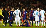 Lesion de Paco Alcacer, FC Barcelona v Deportivo de la Coruña en el Camp Now, Barcelona, Jornada 16, 17 Diciembre 2017. Photo Martin Seras Lima